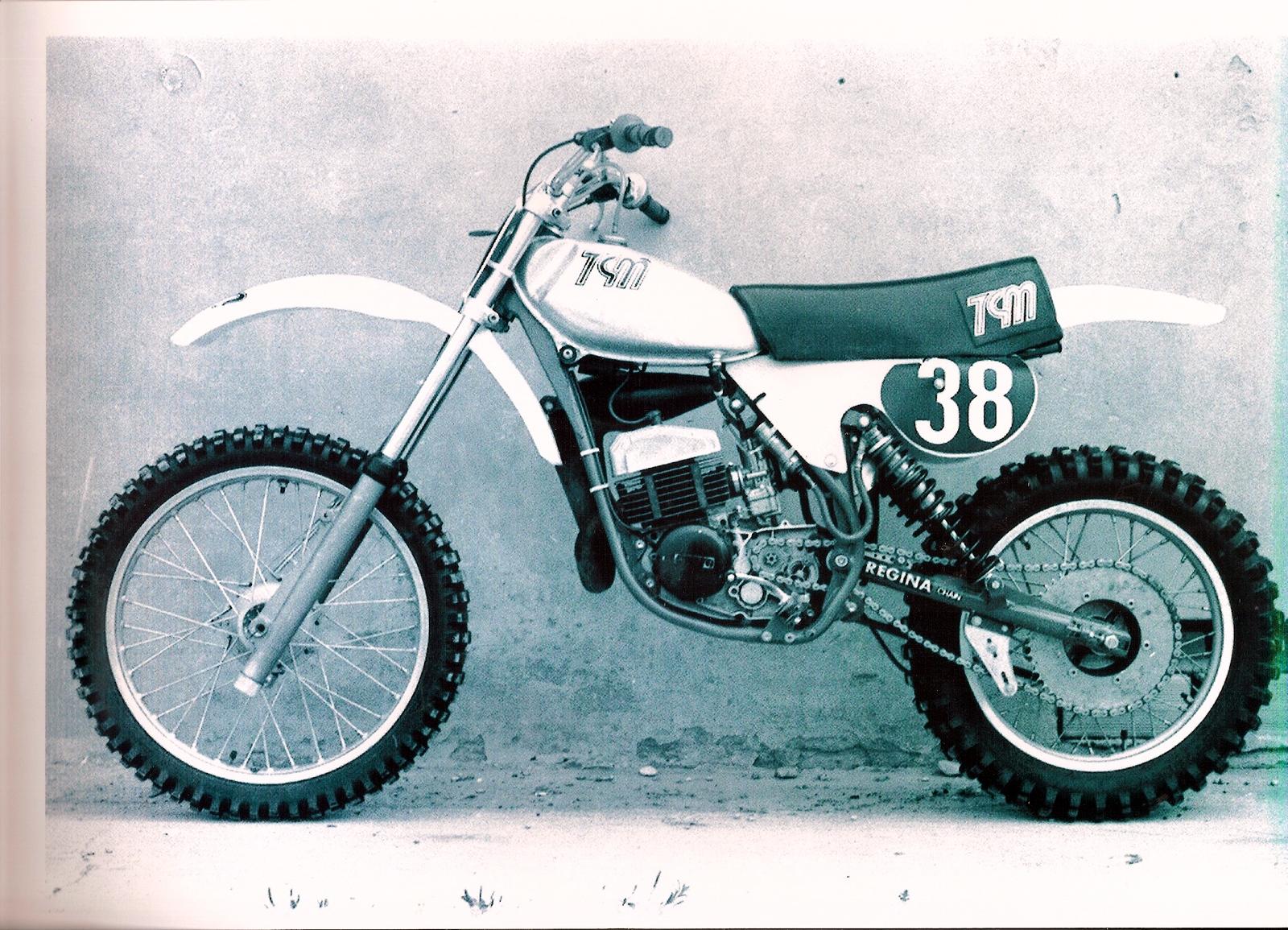 TGM 125 cc. prototipo del 1978
