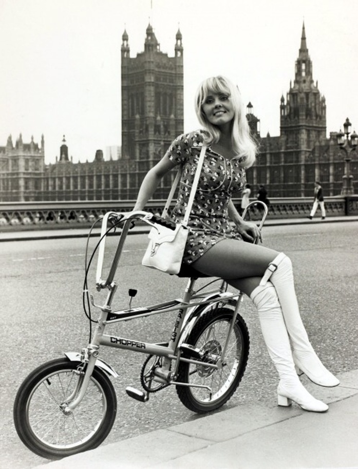 Raleigh La Chopper Bike Giocattoli Vintage Curiosando