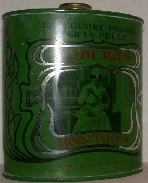 borotcalco vecchia confezione latta