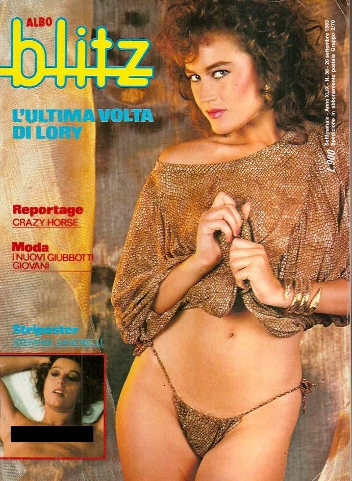 copertina Blitz riviste del passato Lory del Santo
