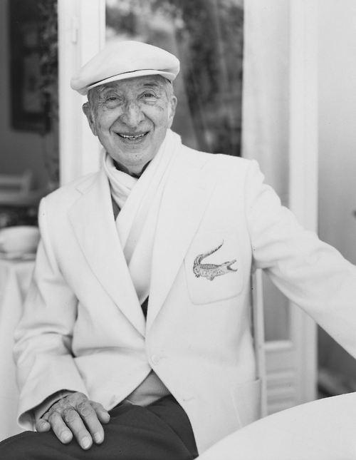 René Lacoste nel 1994 a 90 anni suonati.