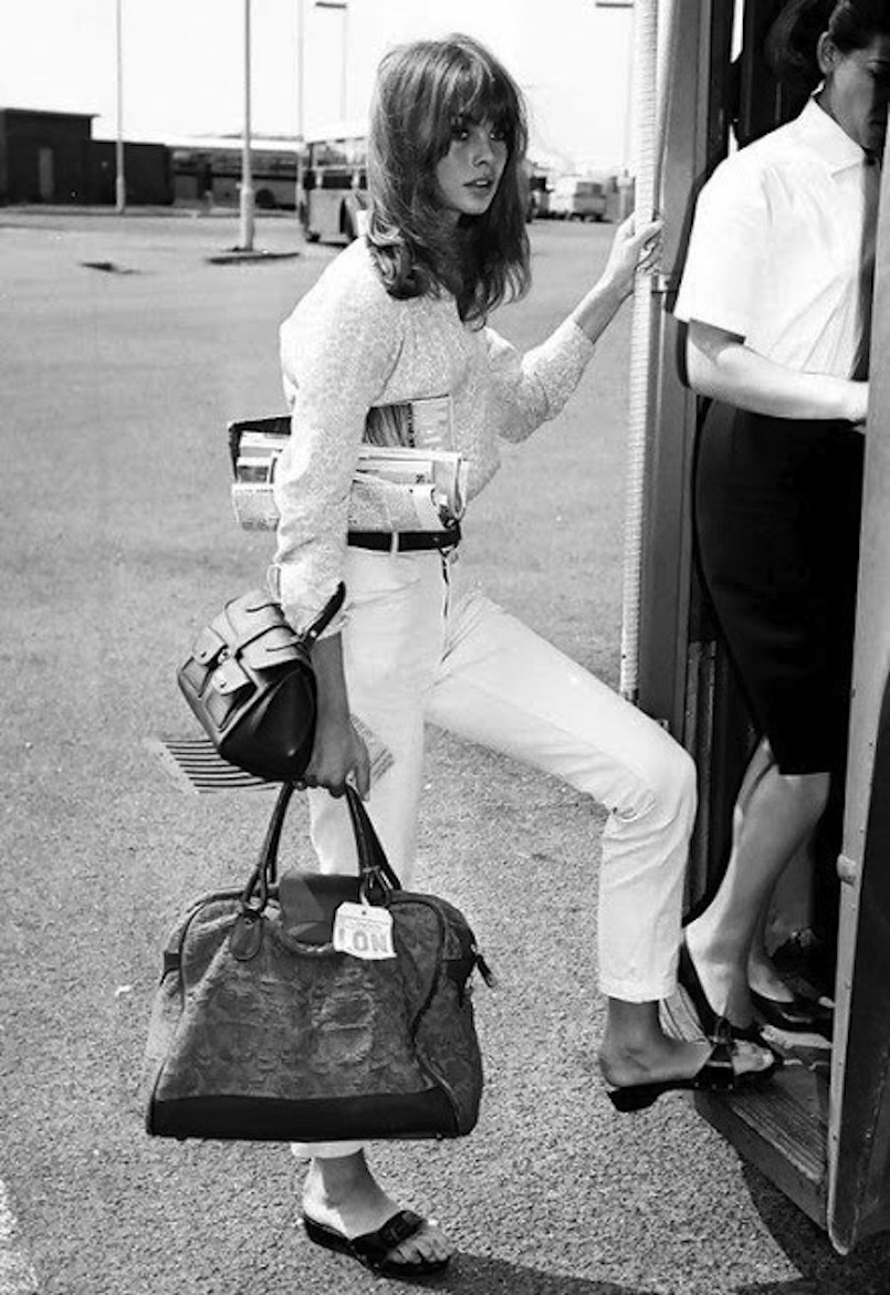 Jean Shrimpton e i suoi Pescura