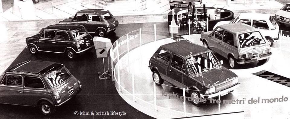Innocenti Mini Cooper 1300, Mini 90, Mini 120, Regent Salone Auto Torino 1975