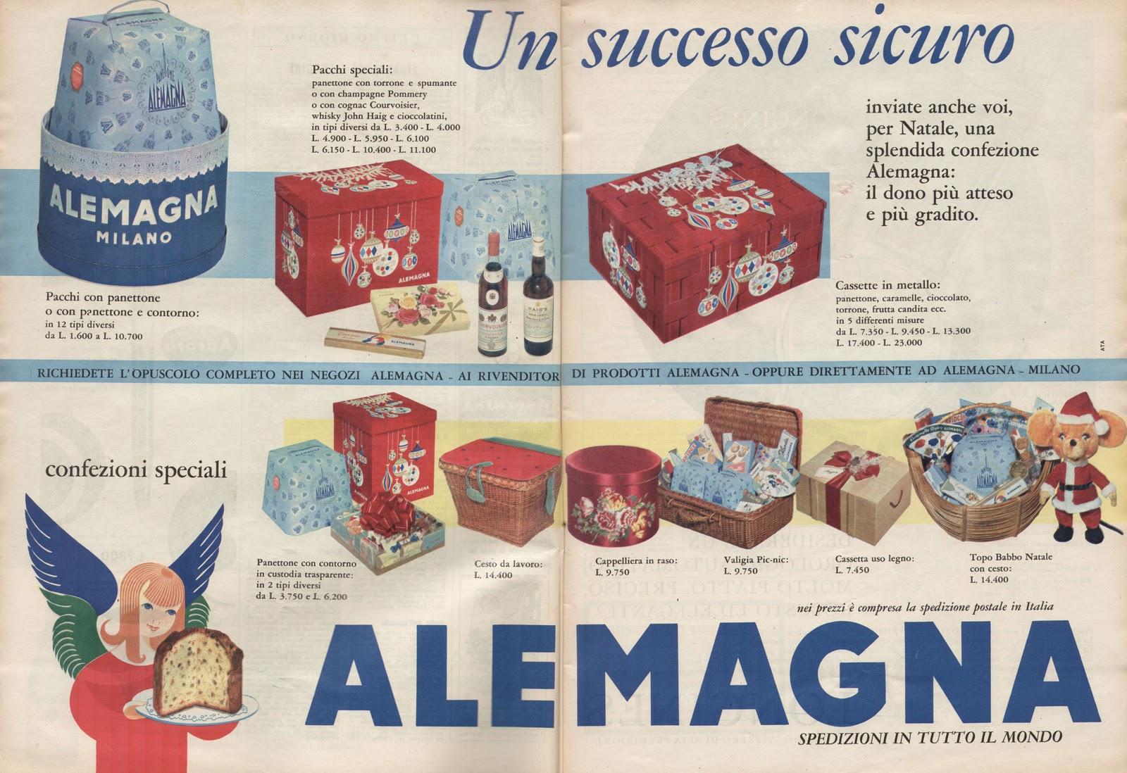 alemagna natale 1961