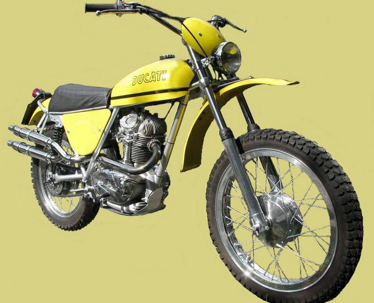 Ducati Rt Moto Depoca Scrambler Anni 70