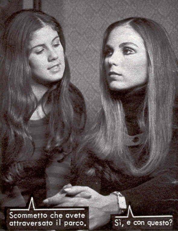 Il suo esordio alla Lancio (1972) a 16 anni