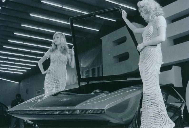 Presentazione dell'Alfa Carabo carrozzata Bertone