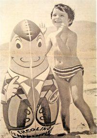 ERCOLINO SEMPRE IN PIEDI – Gadget Galbani – (anni 60 e 70)