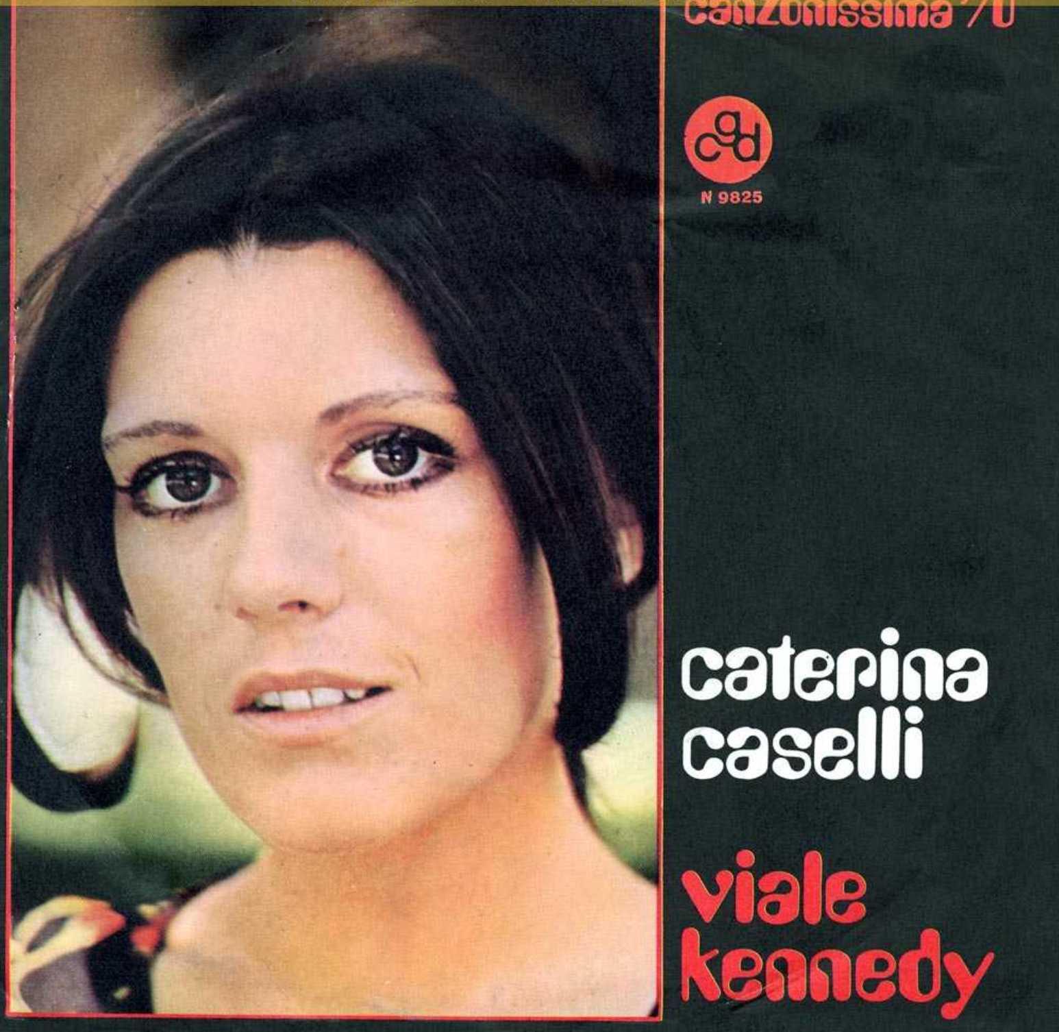 Caterina Caselli nel 1970