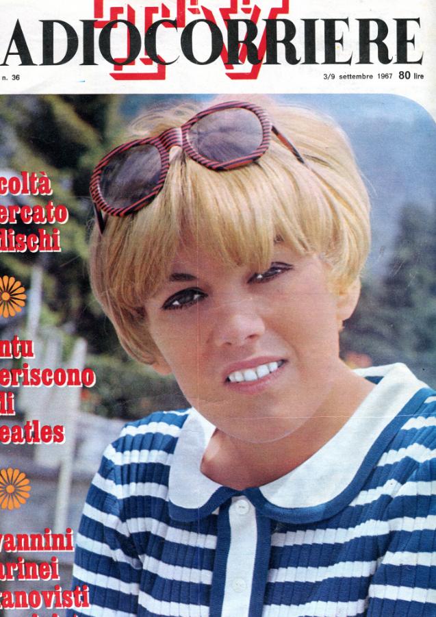 caterina_caselli_copertina_radio_corriere_1967