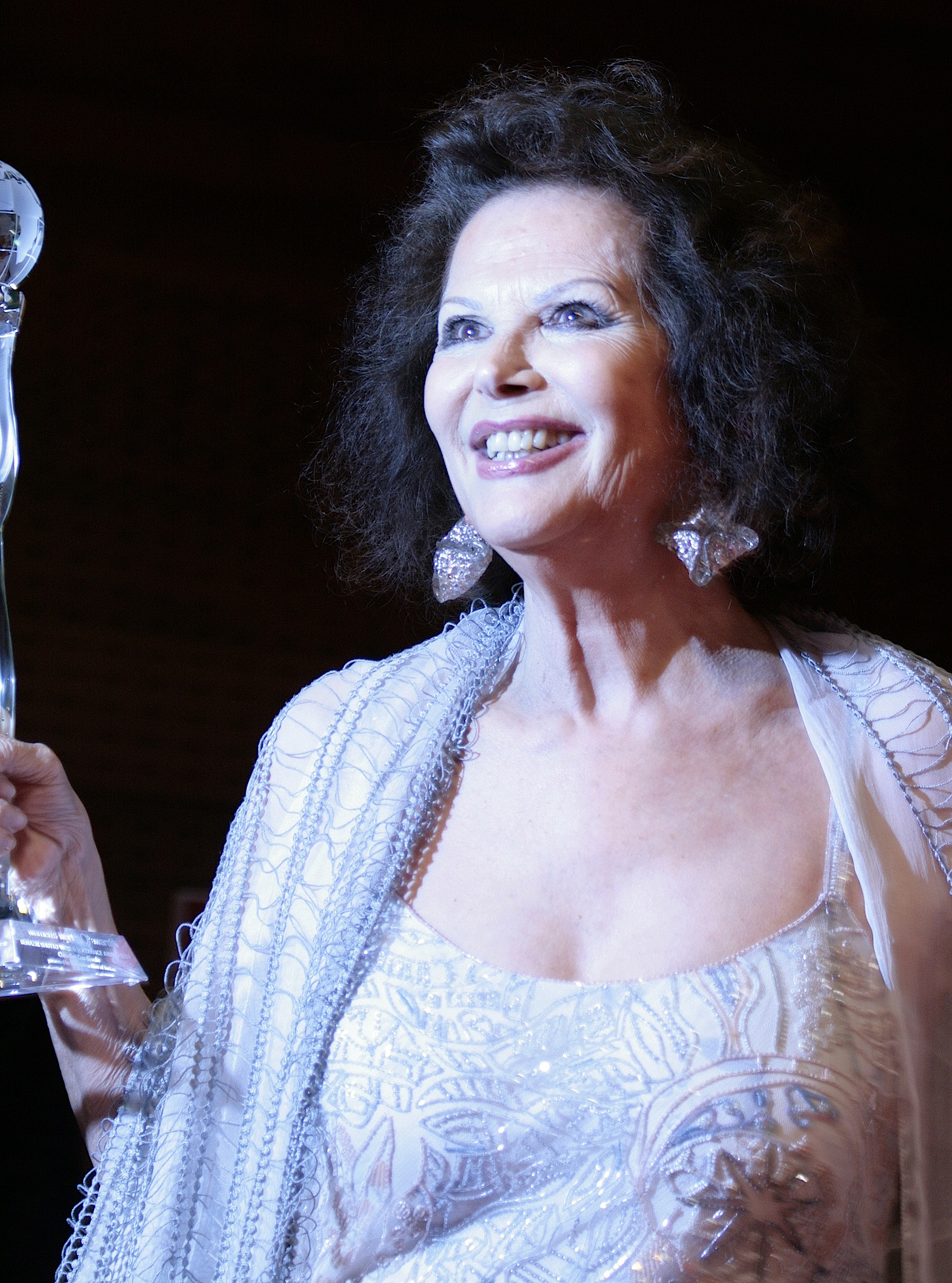 Claudia Cardinale at the Women's World Awards 2009 in Vienna, Austria