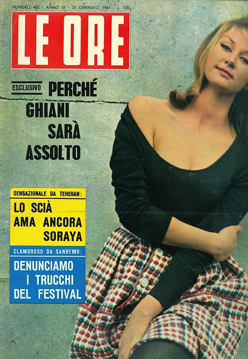 Le Ore -rivista-1961