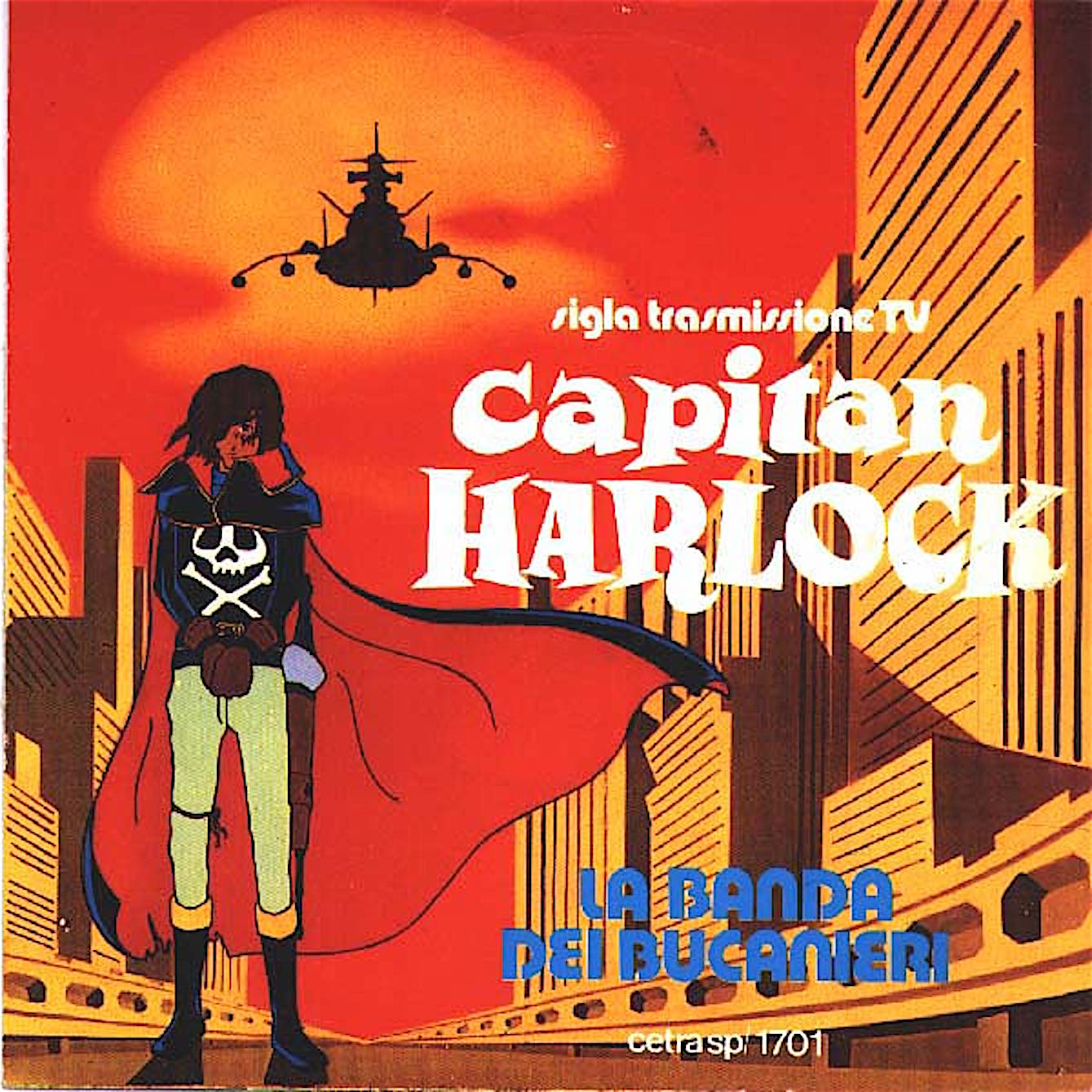 Capitan harlock anime curiosando anni