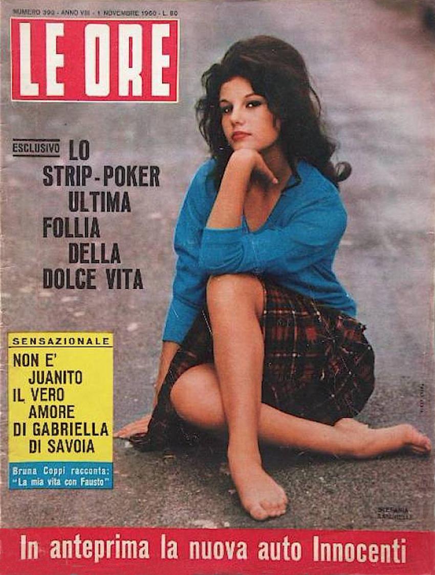 copertina-stefania-sandrelli-su-le-ore-novembre-1960-photo-paolo-costa-