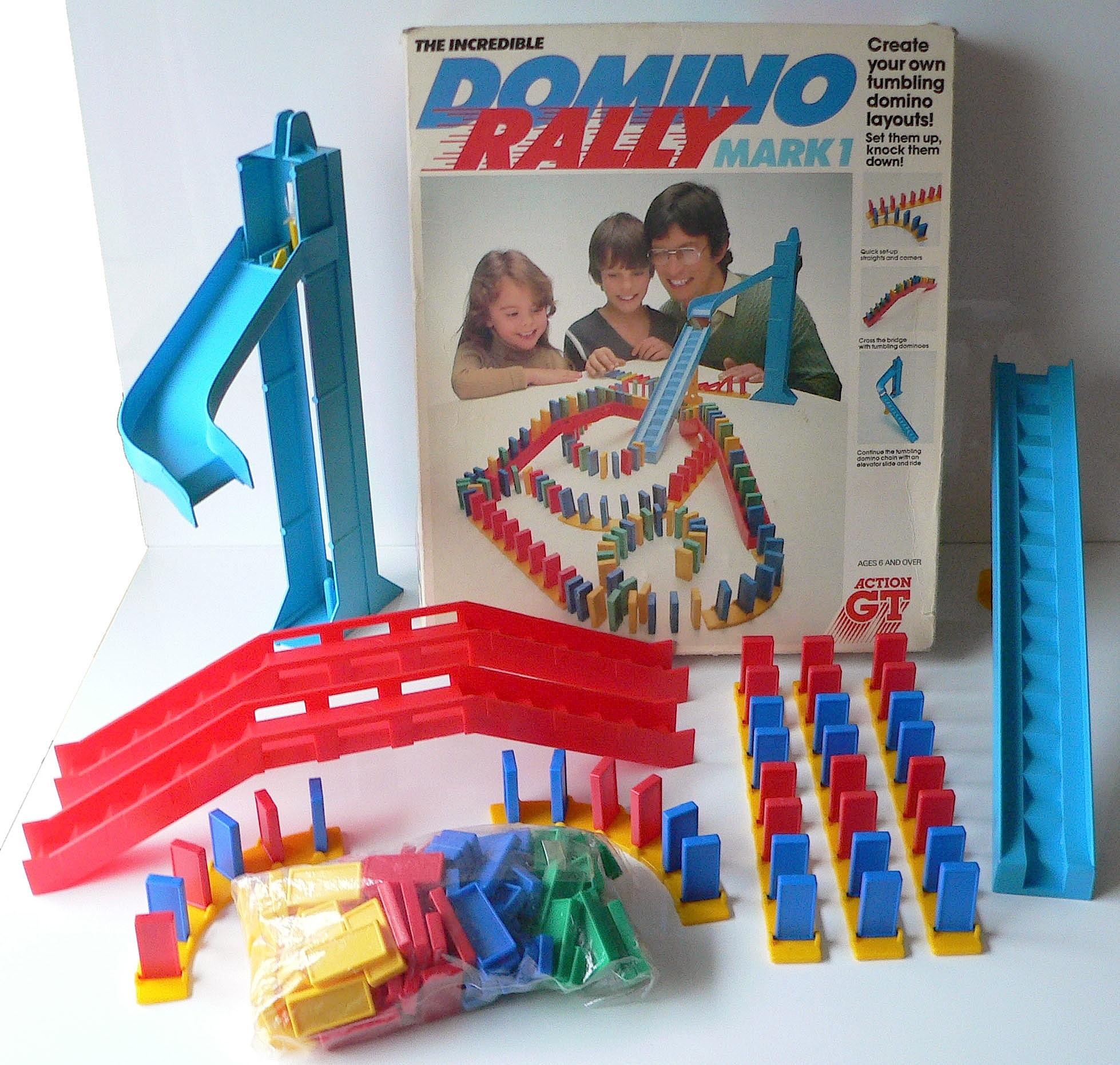 Domino Rally E Go Dawn Giocattoli Vintage Anni 80