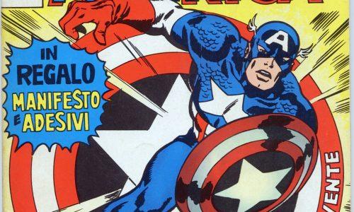 CAPITAN AMERICA …. l'epopea CORNO – (1973/1983)