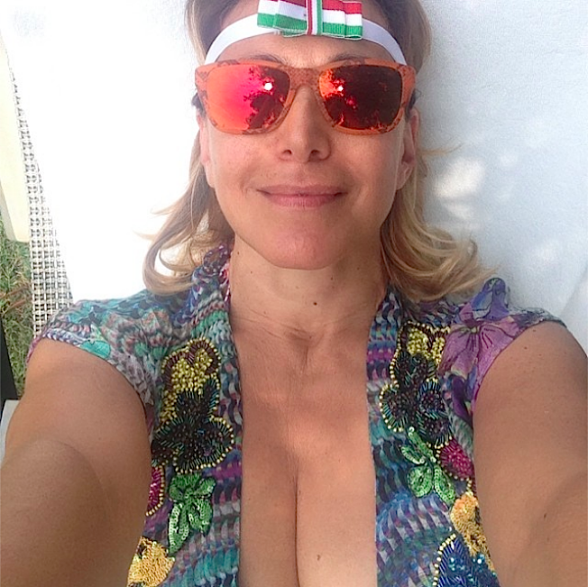 barbara-durso-selfie-al-naturale
