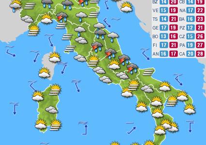 Previsioni del tempo e Oroscopo del giorno 26 OTTOBRE