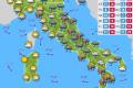 Previsioni del tempo - Oroscopoe e Almanacco del giorno 24 APRILE