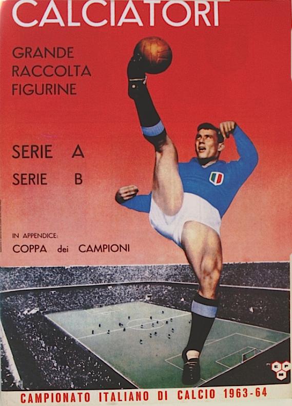 album calciatori panini 1963 1964