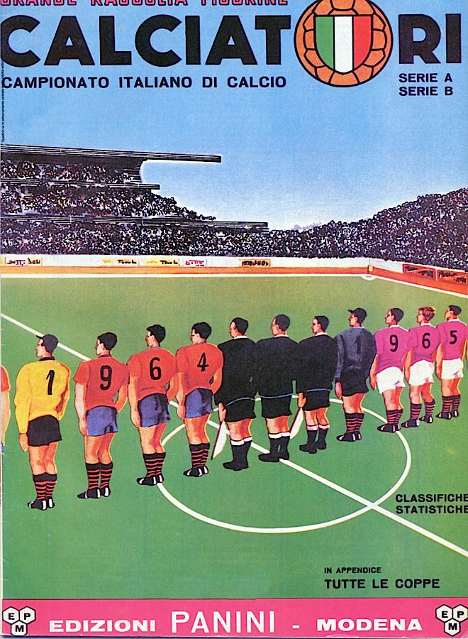 album calciatori panini 1964 1965