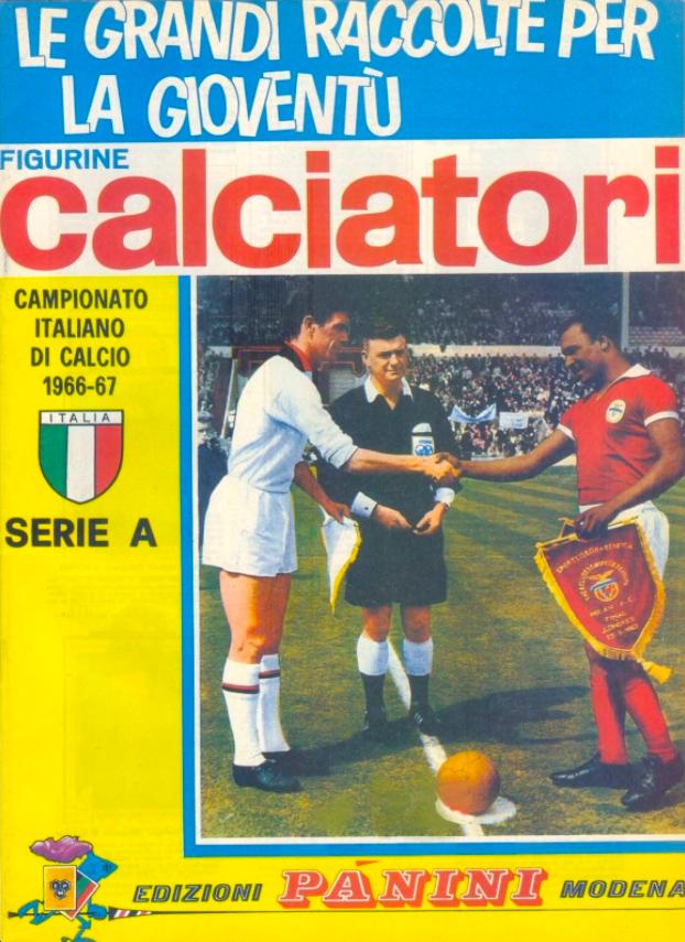 album calciatori panini 1966 1967