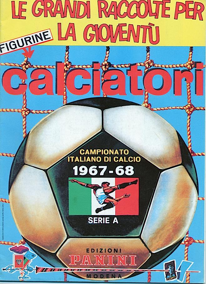 album calciatori panini 1967 1968