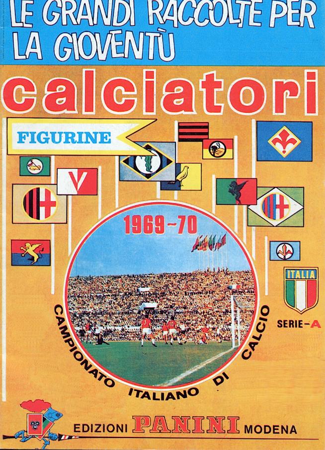album calciatori panini 1969 1970