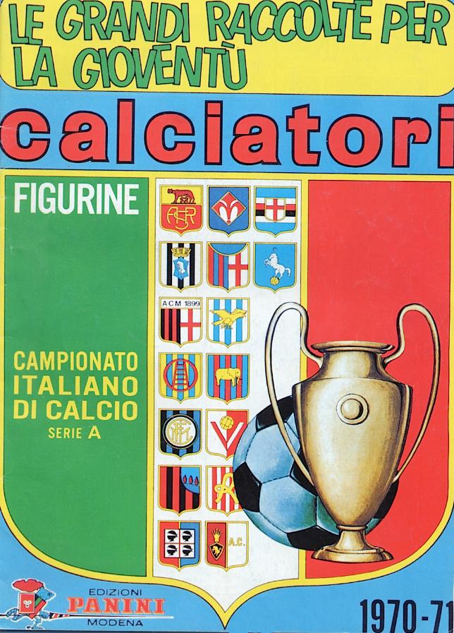 album calciatori panini 1970 1971