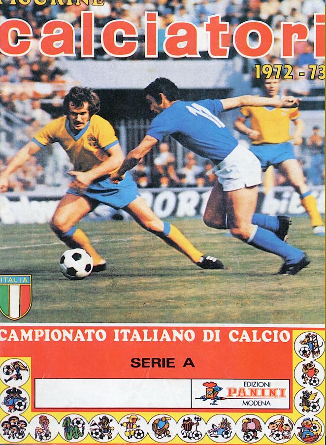 album calciatori panini 1972 1973