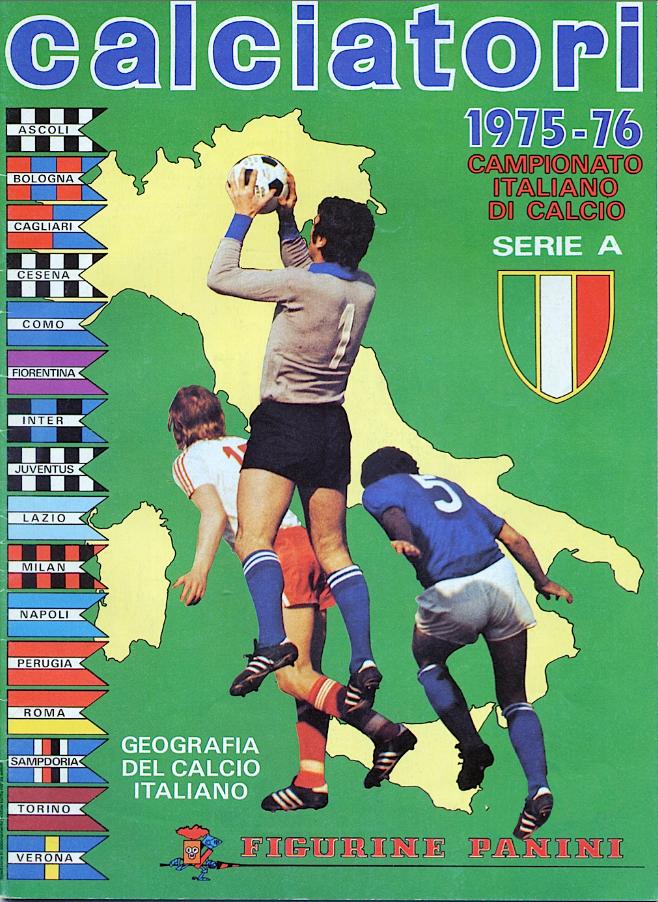 album calciatori panini 1975 1976