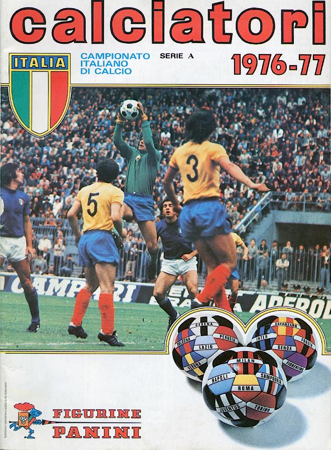album calciatori panini 1976 1977