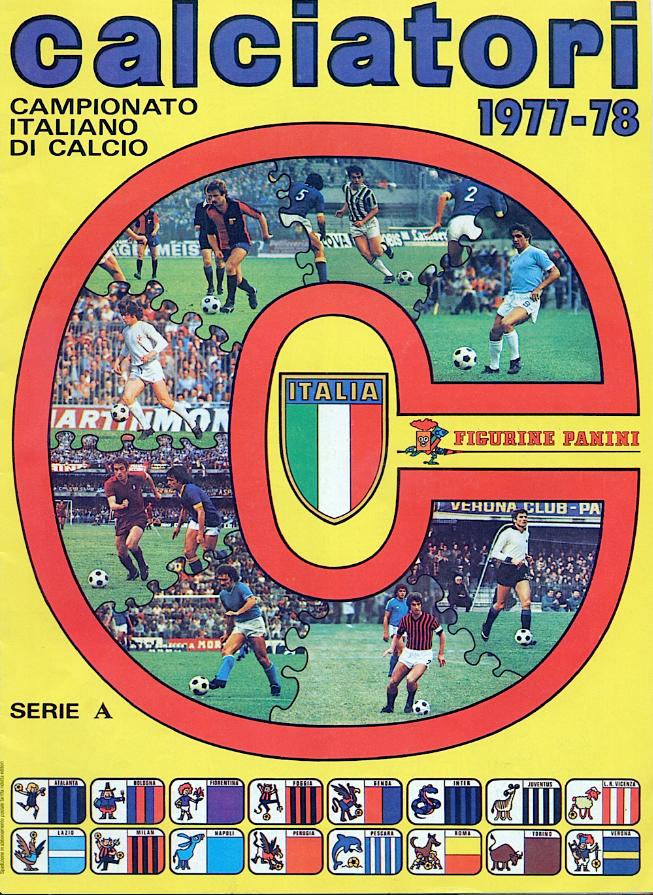 album calciatori panini 1977 1978