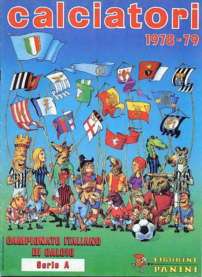 album calciatori panini 1978 1979