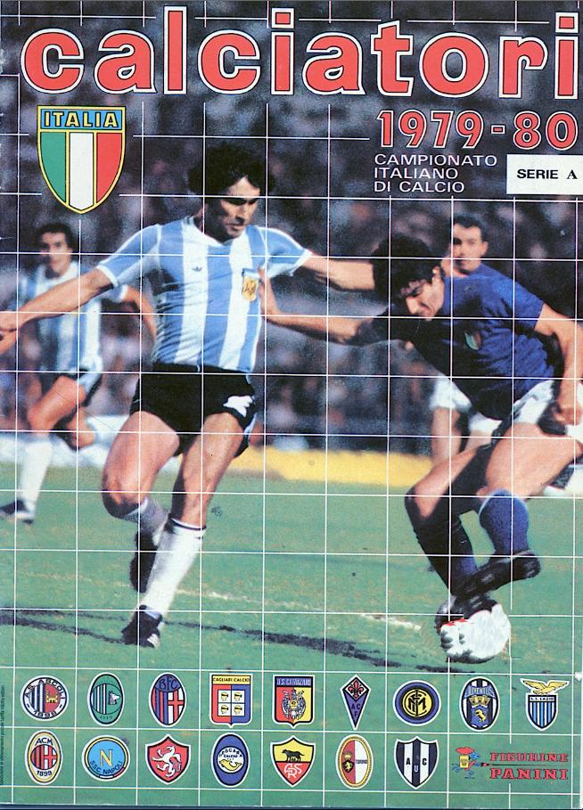 album calciatori panini 1979 1980