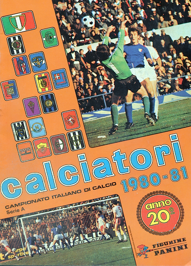 album calciatori panini 1980 1981