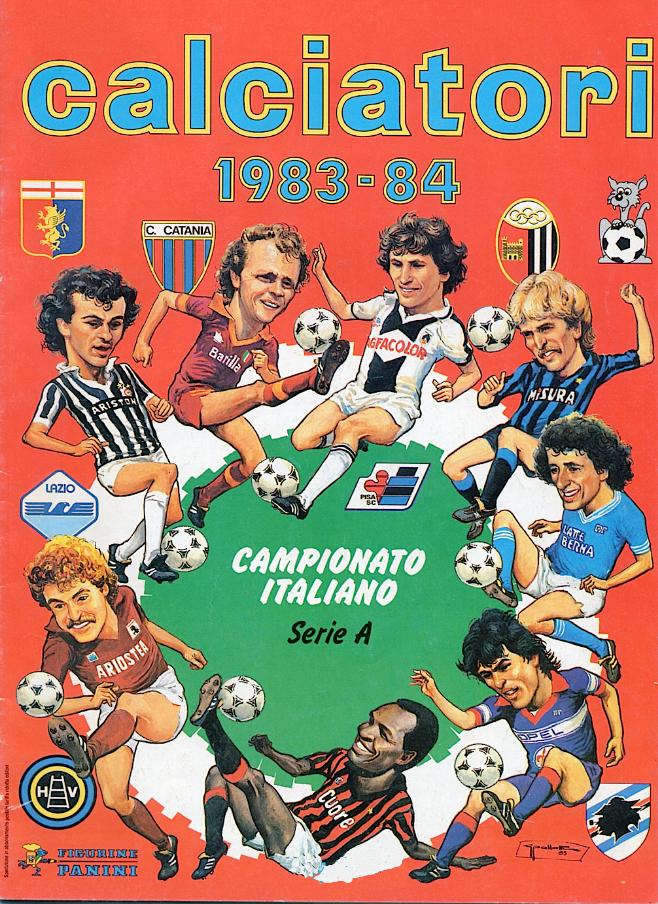 album calciatori panini 1983 1984