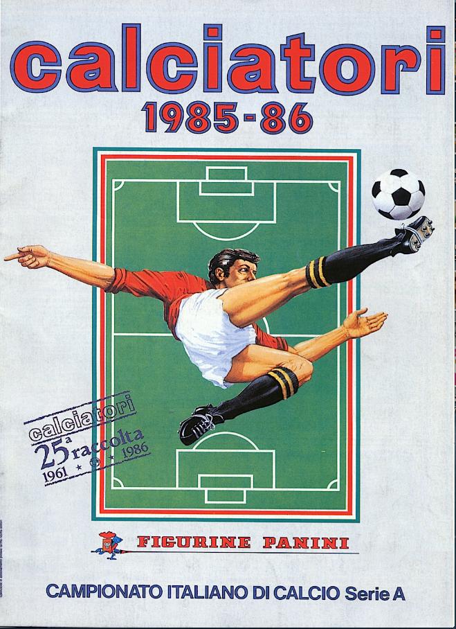 album calciatori panini 1985 1986