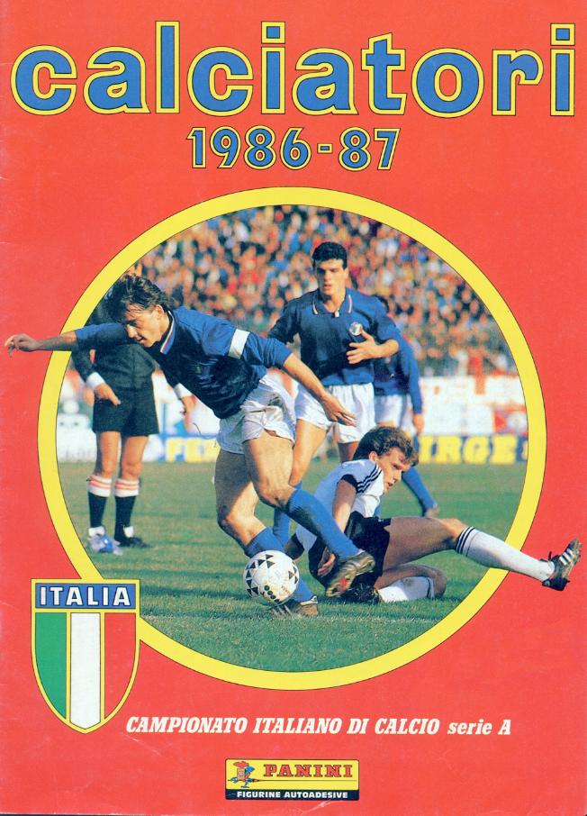 album calciatori panini 1986 1987