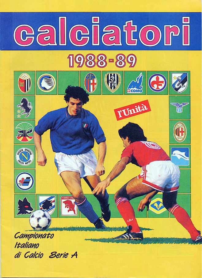 album calciatori panini 1988 1989