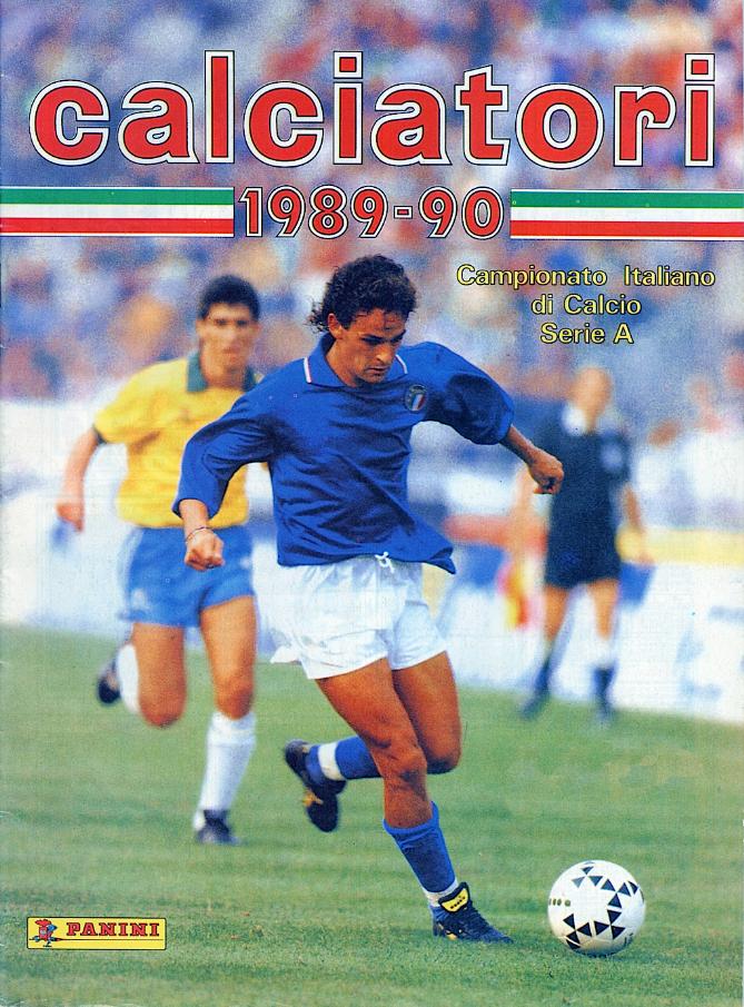 album calciatori panini 1989 1990