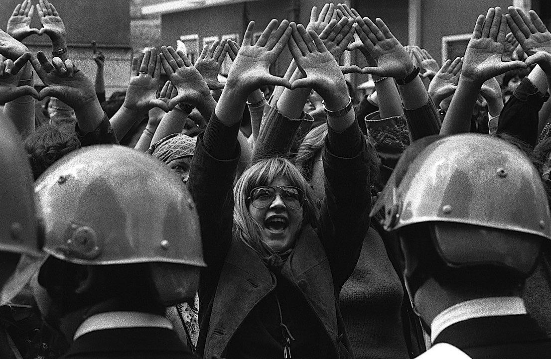 Roma, aprile 1977.