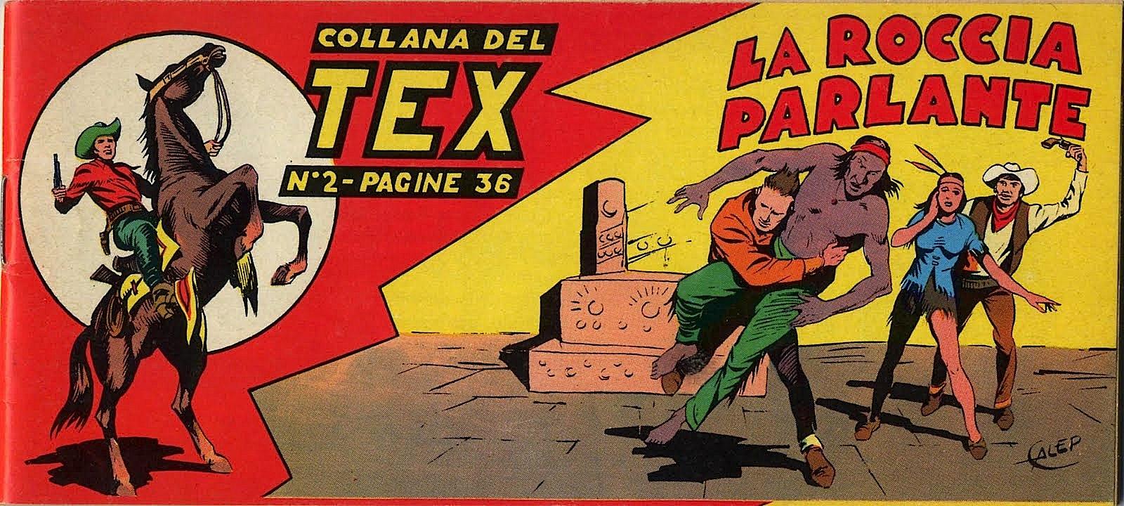Tex_Numero_2_striscia-La Roccia Parlante - 00