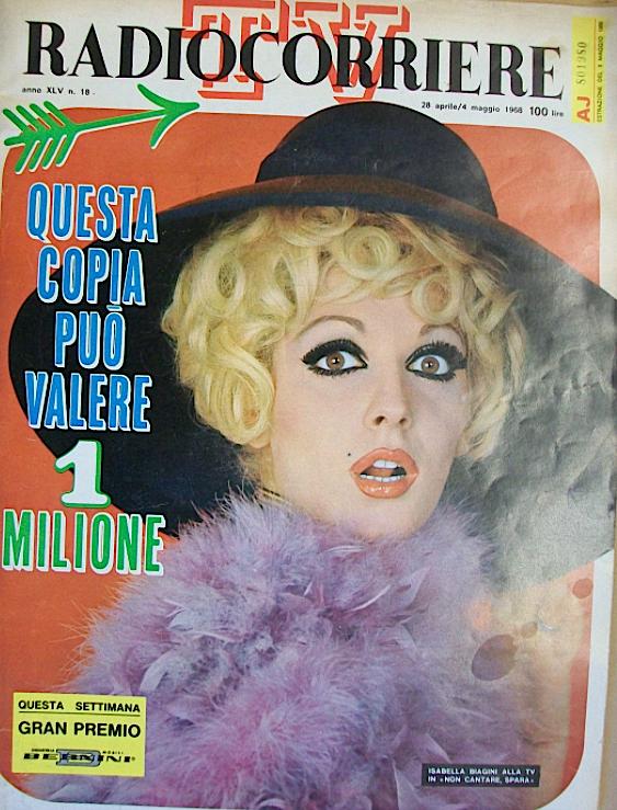 isabella_biagini_copertina_radiocorriere_1968