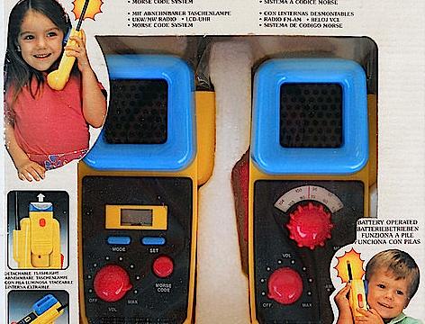 WALKIE-TALKIE – Non solo un giocattolo