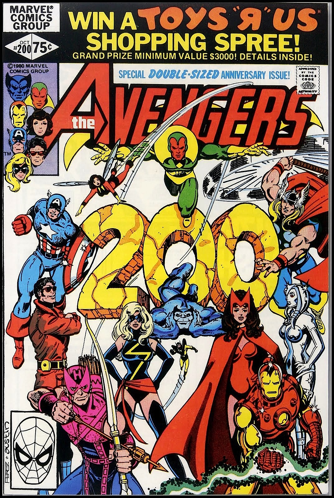 Avengers-200-1980-copertina
