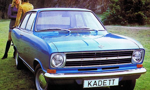 Storia dell'auto: OPEL KADETT B – (1965/1973)