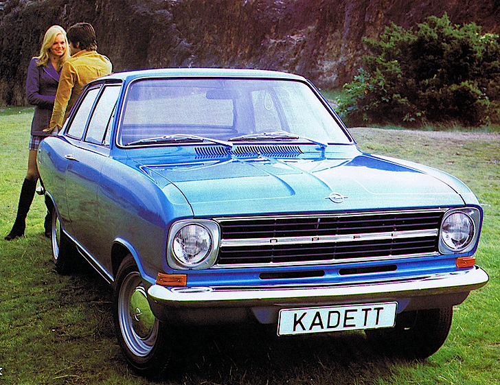Opel Kadett 2-door Sedan (B) 1965–73