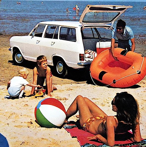 Opel Kadett Caravan 5-door (B) 1967–70