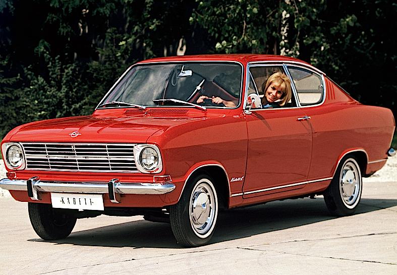 Opel Kadett Coupe (B) 1965–70